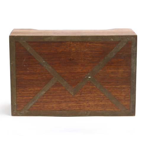 * Wood Envelope Box