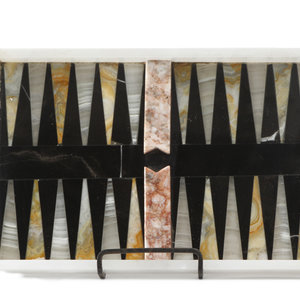 Alabaster Backgammon