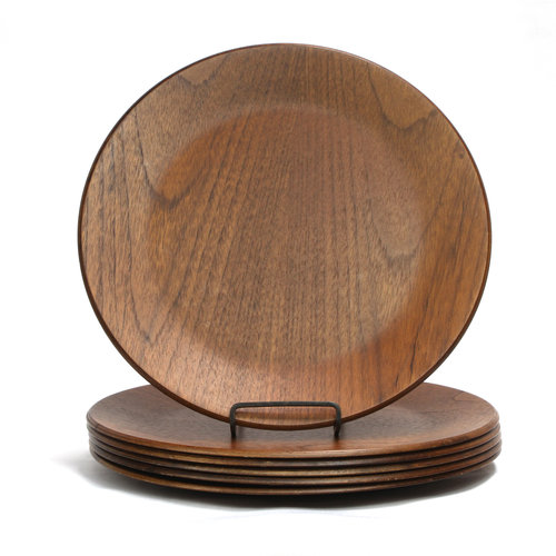 Treasures of Ojai Dansk Wood Chargers (Set of 6)