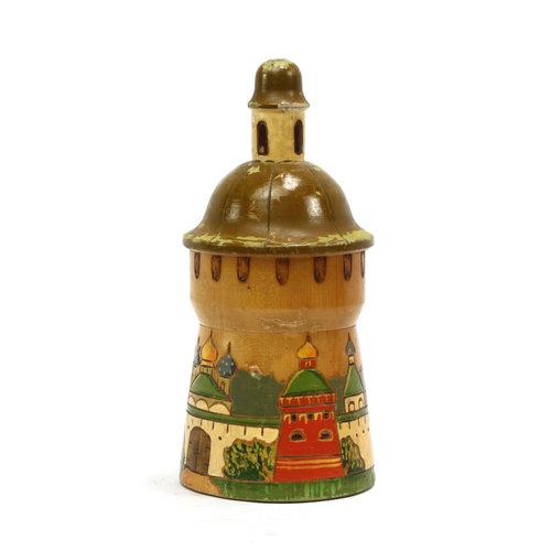 Wooden Folk Trinket Box