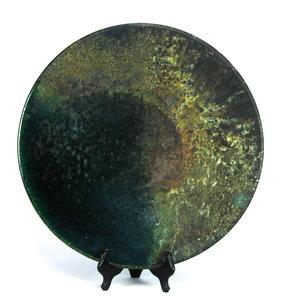 Treasures of Ojai Large Raku Platter