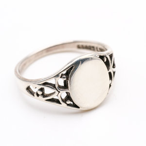 Sterling Signet Ring