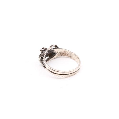 Treasures of Ojai Sterling Snake Ring