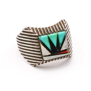 Treasures of Ojai Zuni Inlay Ring