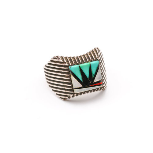 * Zuni Inlay Ring