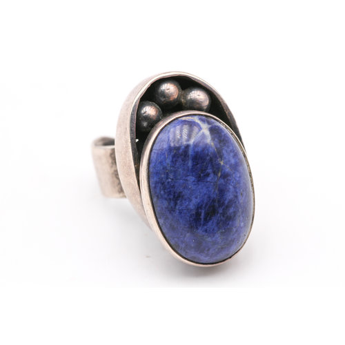 Treasures of Ojai Sterling & Lapis Ring