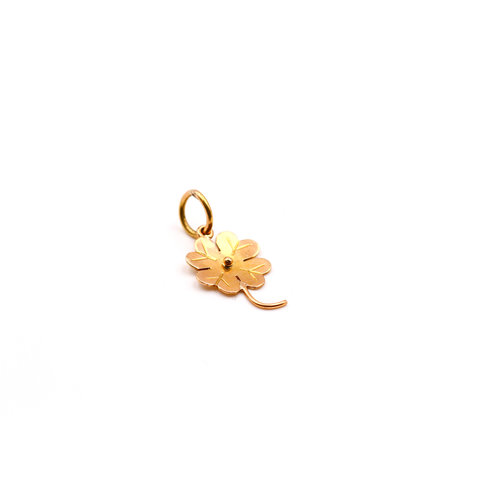 Treasures of Ojai 18K Gold 4 Leaf Clover Charm