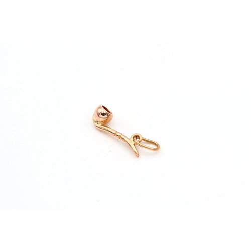 Treasures of Ojai Tobacco Pipe 18k Yellow Gold Charm