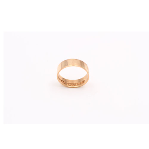 10K Masonic Scottish Rites Ring