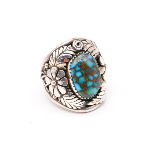 Treasures of Ojai Sterling & Turquoise Ring
