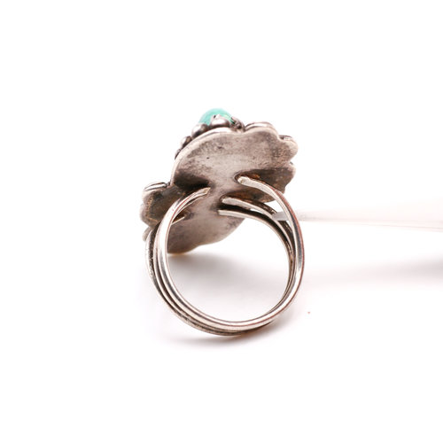 Turquoise & Sterling Ring