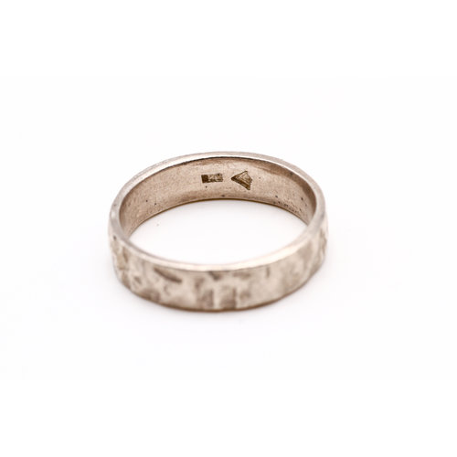Treasures of Ojai Sterling Hammered Band