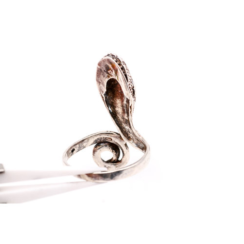Treasures of Ojai Sterling Snake Ring