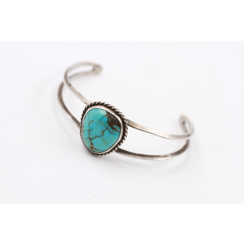 * Sterling Turquoise Cuff