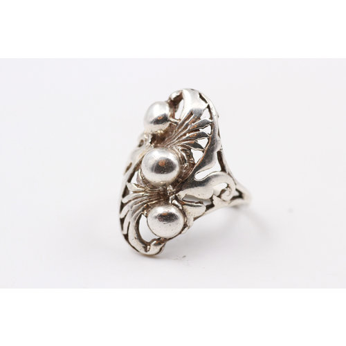 Sterling 3 Bubble Ring (8)