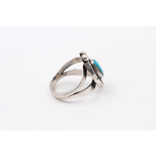 Sterling Turq Ring (6.5)