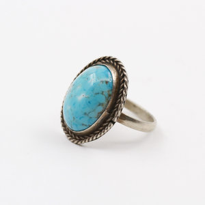 Sterling Larimar Ring (9)