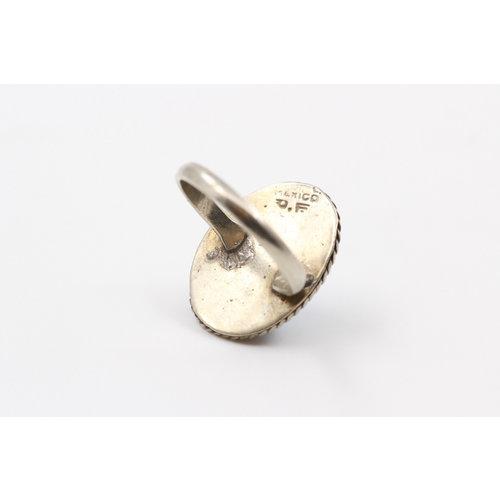 * Sterling Larimar Ring (9)