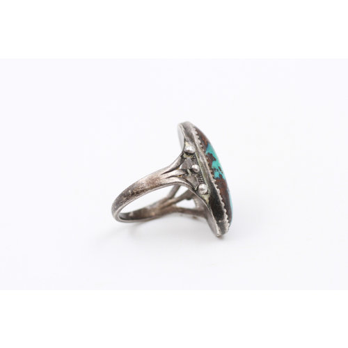 * Sterling Turq Ring (6.5)