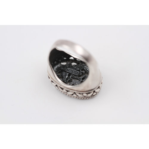 * Sterling Floral Ring (7.5)