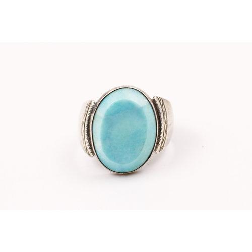 * Sterling Jadeite Ring (15)