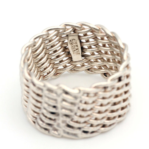 * Woven Sterling Ring (8)