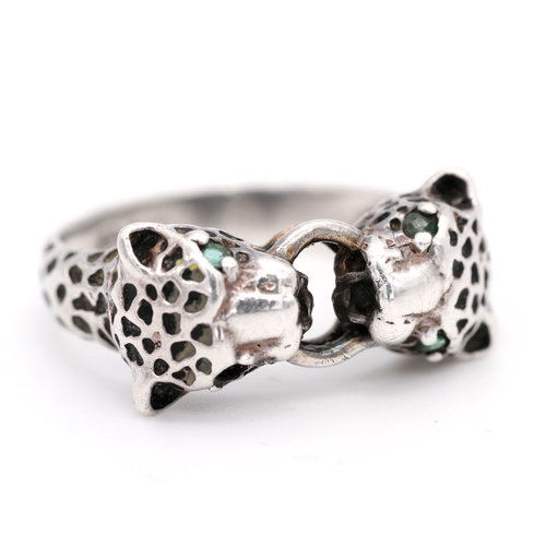 * Sterling Jaguar Ring (8)