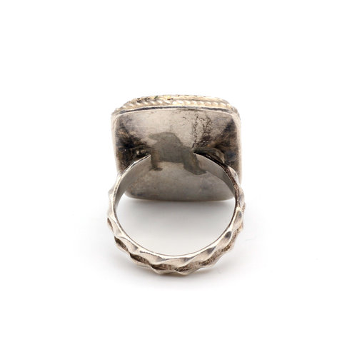 * Masons Sterling Gold & MoP Ring (7)