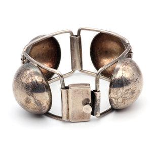 * Sterling Silver Bubble Bracelet