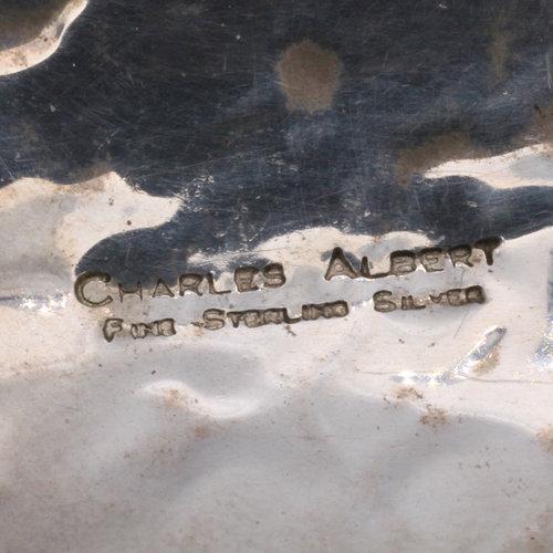 * Early Charles Albert Sterling Designer Bracelet