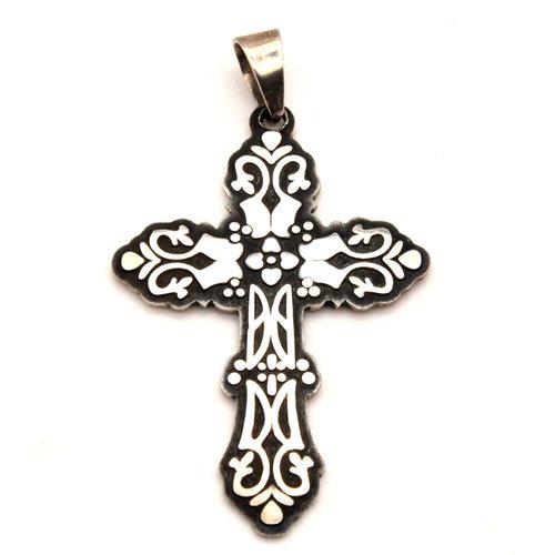 Sterling Cross Pendant