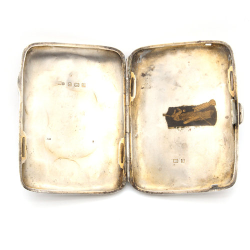 Sterling Birmingham Cigarette Case