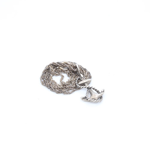 Sterling Anchor on Sterling Chain