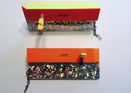 Water Bugz Double Foam Planer Board, Right & Left Set