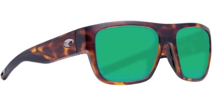 Costa Costa Sampan Matte Tortoise Green Mirror 580G MH1191OGMGLP