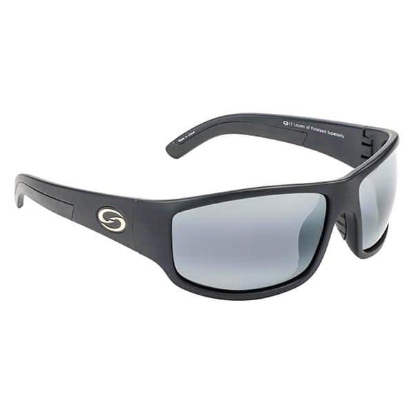 Strike King Strike King SG-S1171 Caddo Sunglasses Polarized, Matte Black Gray Lens