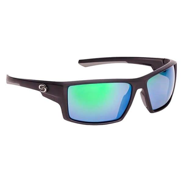 Strike King Strike King SG-S1192 Pickwick Sunglasses Polarized, MatBlk/GryRbr Green Mirror Lens