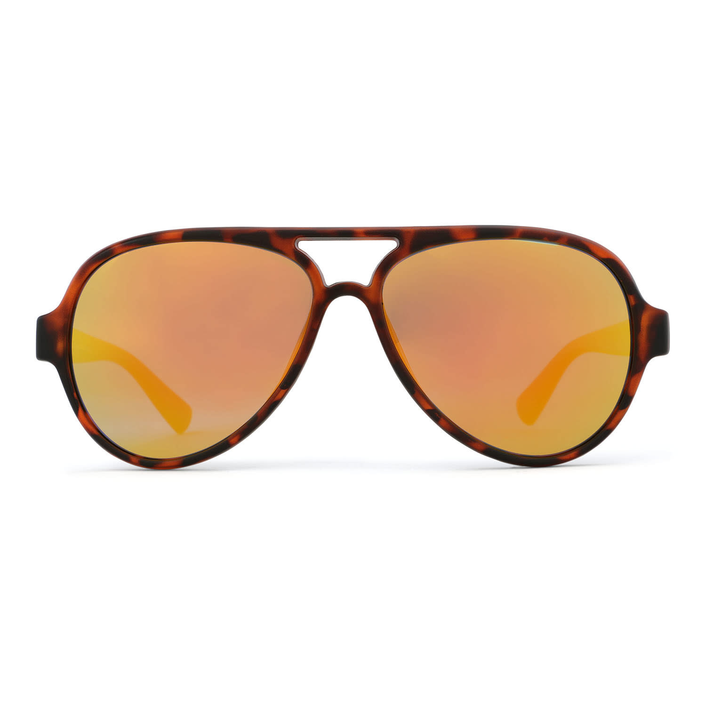 Rheos Rheos Palmettos Tortoise Frame Sunset Mirror Lens