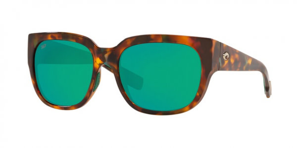 Costa Costa Waterwoman 250 Shiny Palm Tortoise Frame Green Mirror 580P