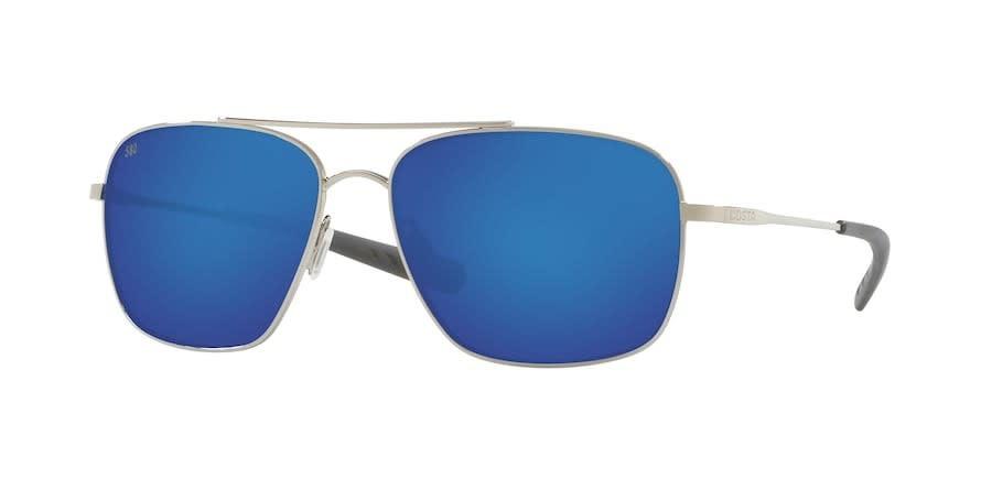 Costa Costa Canaveral Shiny Palladium w/ Grey Blue Mirror 580G