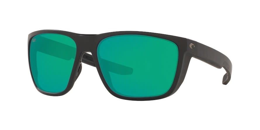 Costa Costa Ferg 11 Matte Black w/ Green Mirror 580G