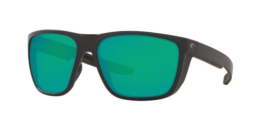 Costa Costa Ferg XL 11 Matte Black Frame Green Mirror 580G