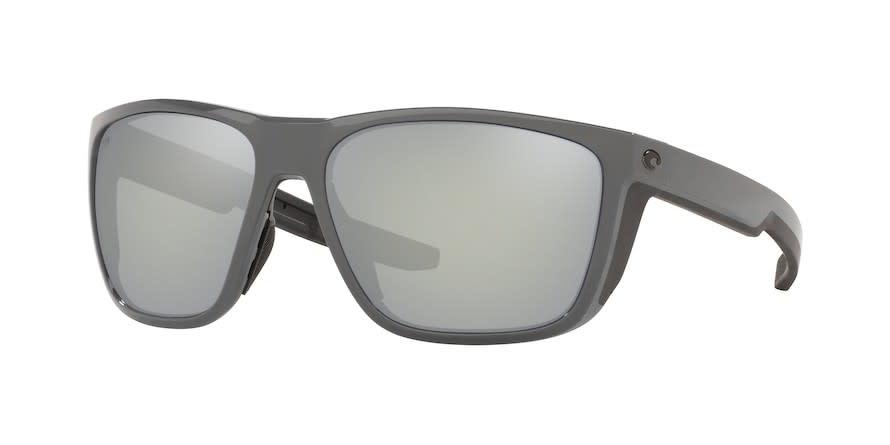 Costa Costa Ferg XL Shiny Gray Frame Gray Silver Mirror 580G