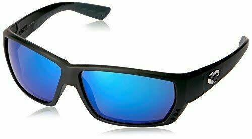Costa Costa Tuna Alley 11 Matte Black w/ Blue Mirror 580G