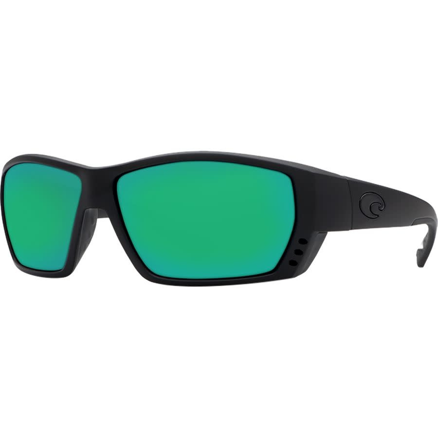Costa Costa Tuna Alley 11 Matte Black w/ Green Mirror 580G - TA-11-OGMGLP