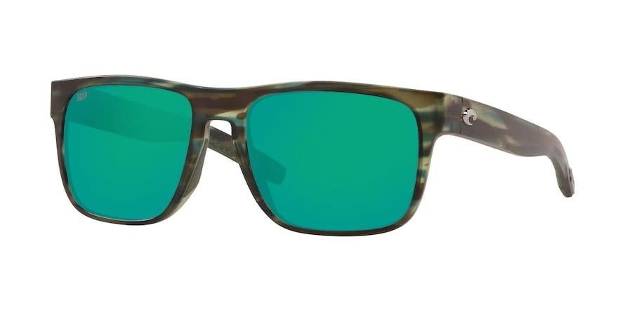 Costa Costa Spearo XL Matte Reef Frame, Green Mirror 580P