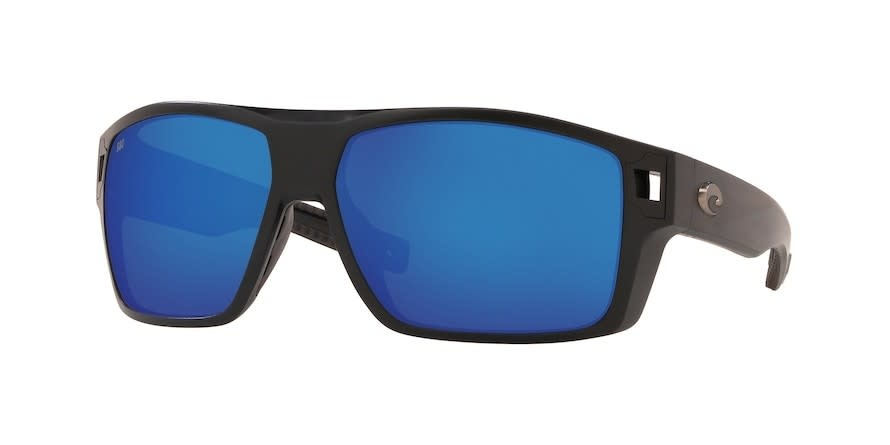 Costa Costa Diego Matte Black Frame w/ Gray Blue Mirror 580G Lens