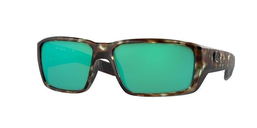 Costa Costa Fantail Pro 254 Matte Wetlands Frame w/ Green Mirror 580G Lens
