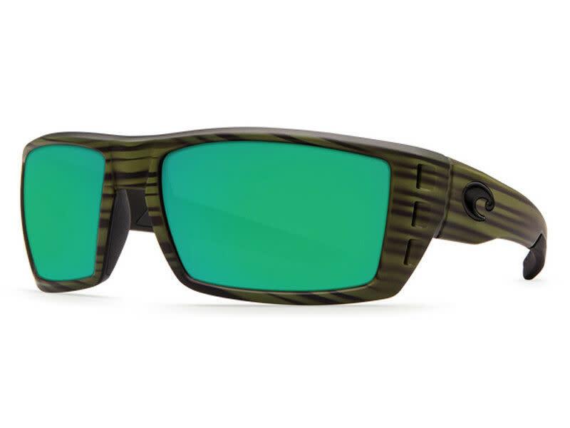 Costa Costa Rafael Matte Olive Teak Green Mirror 580P