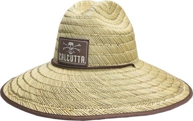 Calcutta Calcutta BR209335 Straw hat with chin strap One size